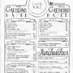 Cafe + Menu 3